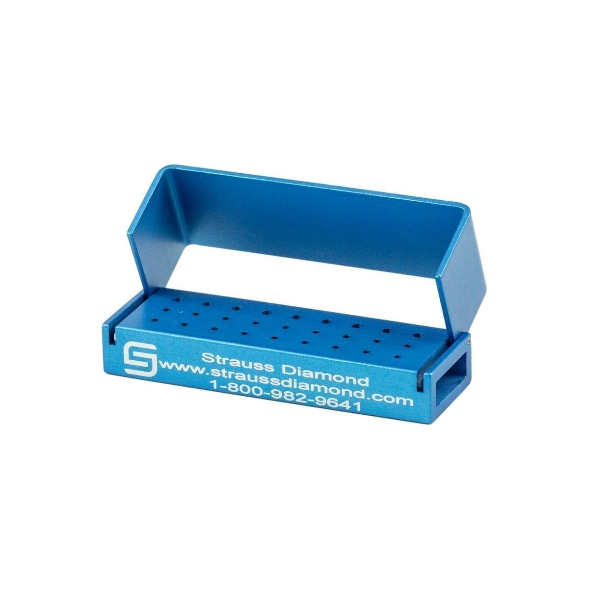 18FG/9RA Hole Bur Block – Strauss Diamond Instruments, Inc.