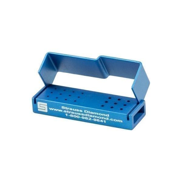 12 FG/ 9 RA Hole Bur Block – Strauss Diamond Instruments, Inc.
