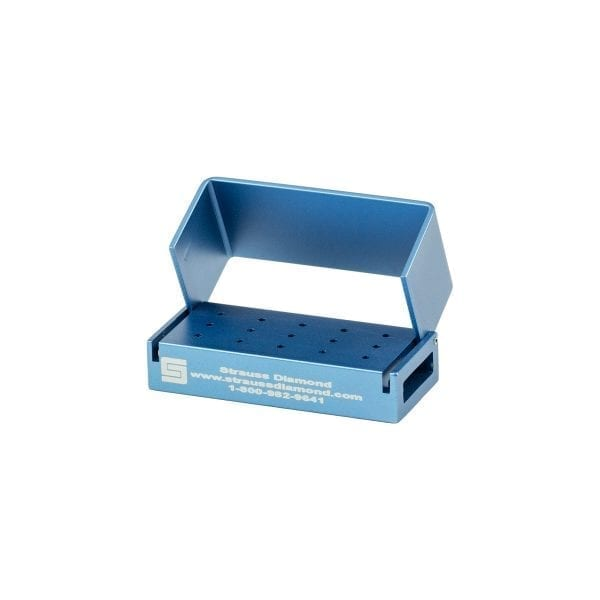 15 Hole FG Bur Block – Strauss Diamond Instruments, Inc.