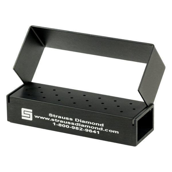 20 HP Hole Bur Block – Strauss Diamond Instruments, Inc.